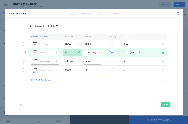 Nexla supports Snowflake integration and Redshift Integration