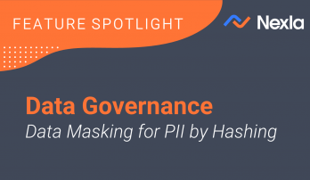 data governance data masking for PII Hashing Title Slide